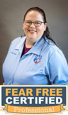 Fear Free Certified Dr. Sarah Hadley