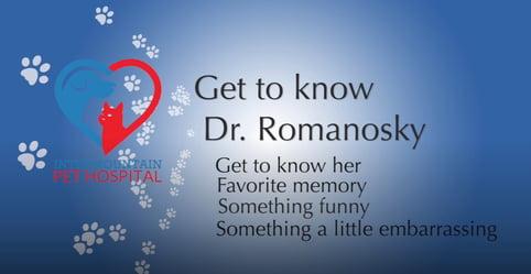 Get to know Dr. Romanosky