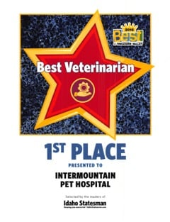 2016 Best Veteranarian Best Of Treasure Valley