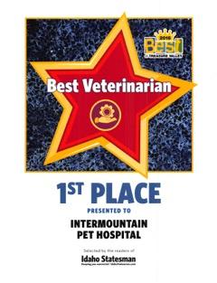 2016 Best Veterinarian Best Of Treasure Valley